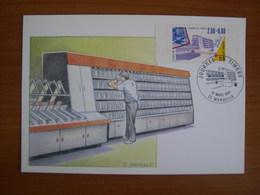 N° 2689 Journée Du Timbre 1991 - Cartoline Maximum