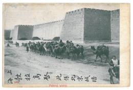 CH 35 - 14466 PEKING, China, Great Wall, Camel Caravan - Old Postcard - Unused - China