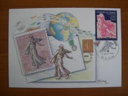 N° 2990 Journée Du Timbre 1996 - Cartoline Maximum