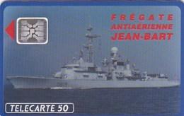 TELECARTE Publicitaire BATEAUX  FREGATE JEAN BART Lutte Antiaerienne  Petit Tirage 11000 Ex - France