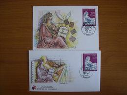 N° 3050/3051 Journée Du Timbre 1997 - Cartoline Maximum