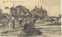 COQ S/MER : Tom Thumb Golf - RARE CPA - Cachet De La Poste 1938 - De Haan