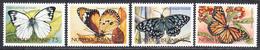 NORFOLK 1997 - Papillons - Yvert 615/618  Neufs ** (L533) - Norfolk Island