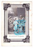 DP Henricus Duijs Duys / Op Den Kamp ° Rotterdam 1803 † 1850 X Anna Maria Beckers ° Tilburg 1807 / Litho Bontamps Venlo - Images Religieuses