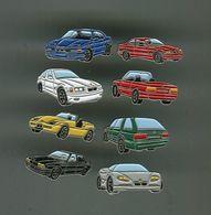Lot 8 Pin's - Renault Peugeot BMW Seat Audi - Au Dos Auto Journal - Pin