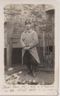 Prosper Quentin Militaire 53éme Rgt Infanterie Mort à L'arbre Aux Vaches (Marne) Front De Somme En 1916 Inhumé à Virginy - War, Military