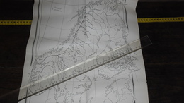 SCANDINAVIE / OLD CARD !!........._____ LOT 8 - Geographical Maps