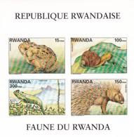 Rwanda Hb Michel 113B SIN DENTAR - 1990-99: Ungebraucht