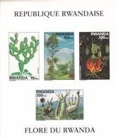 Rwanda Hb Michel 114B SIN DENTAR - 1990-99: Ungebraucht