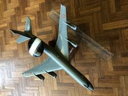 Maquette AVION 45 Cm BOEING E-3F AWACS Etat Correct Mais Quelques Réparations à Effectuer ( Voir Photos ) - Aviones
