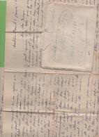 11 Courriers 01 à 06/42 (23 Feuilles) Mère à Son Fils Arbeitsmann Enrolé D'office, Montreux-Vieux (68) à Strasbourg - Poststempel (Briefe)