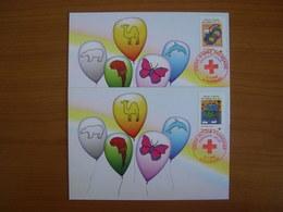 N° 4306/4307 Croix Rouge 2008 - Maximum Cards
