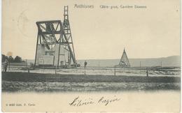 ANTHISNES : Câble-Grue - Carrière Dawans - RARE CPA - Cachet De La Poste 1906 - Anthisnes