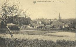 SART-DAMES-AVELINES : Panorama Du Centre - RARE VARIANTE - Cachet De La Poste 1923 - Villers-la-Ville