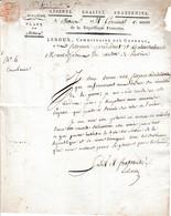 1796 Place De MEAUX - LEROUX Commissaire Des Guerres Au Canton De PROVINS - Remplacement D'un Camarade - Documents Historiques