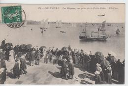 MANCHE - 170 - GRANVILLE - Les Régates,vue Prise De La Petite Jetée - Granville