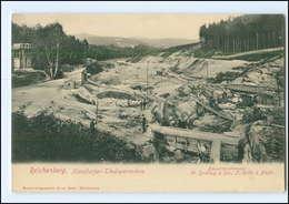 XX009705/ Reichenberg Harzdorfer-Talsperrenbau   Böhmen Tschechien AK 1904 - Boehmen Und Maehren
