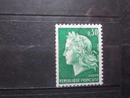 VEND BEAU TIMBRE DE FRANCE N° 1536Ab , XX !!! (i) - 1967-70 Marianne De Cheffer
