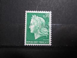 VEND BEAU TIMBRE DE FRANCE N° 1536Ab , XX !!! (g) - 1967-70 Marianne De Cheffer