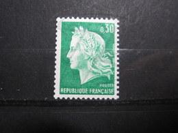 VEND BEAU TIMBRE DE FRANCE N° 1536Ab , XX !!! (f) - 1967-70 Marianne De Cheffer