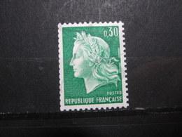 VEND BEAU TIMBRE DE FRANCE N° 1536Ab , XX !!! (e) - 1967-70 Marianne De Cheffer