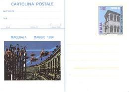59874) ITALIA-INTERO POSTALE DA 400 LIRE Picena 1984 - Cartolina Postale - 10 Maggio 1984 - Ganzsachen