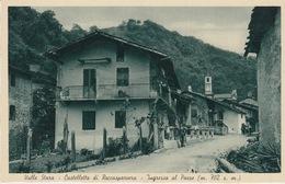 VALLE STURA - CASTELLETTO DI ROCCA SPARVERA  (CUNEO) - INGRESSO AL PAESE - Cuneo