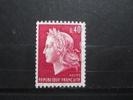 VEND BEAU TIMBRE DE FRANCE N° 1536Bc , XX !!! (b) - 1967-70 Marianne De Cheffer