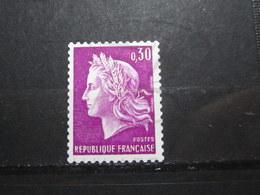 VEND BEAU TIMBRE DE FRANCE N° 1536b , XX !!! (c) - 1967-70 Maríanne De Cheffer