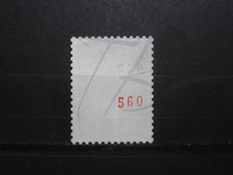 VEND BEAU TIMBRE DE FRANCE N° 1536Ab , NUMERO DOUBLE , XX !!! (b) - 1967-70 Marianne De Cheffer