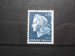 VEND BEAU TIMBRE DE FRANCE N° 1535a , XX !!! (d) - 1967-70 Marianne De Cheffer