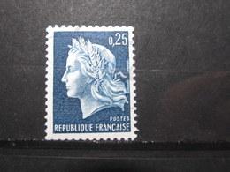 VEND BEAU TIMBRE DE FRANCE N° 1535a , XX !!! (e) - 1967-70 Marianne De Cheffer