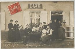 CARTE PHOTO CAFE DE LA PLACE - Cafés