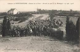 44 Pontchateau Calvaire Chemin De La Croix Arrivée Au Pied De La Montagne - Pontchâteau