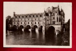 CPA Glacée 37 Château De Chenonceaux Façade Nord Est - Ed Yvon N° 6 - Chenonceaux