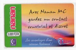 BURKINA FASO RECHARGE NANAN 5000 FCFA CONTACT CONVIVIAL Et DISCRET - Burkina Faso