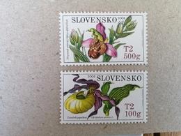 Slovakia, Flowers, 2008, Mi.No. 590-591 - Ungebraucht