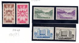 1950 - SIRIA - Mi.  Nr. 590/595 - NH - (S.......) - Siria