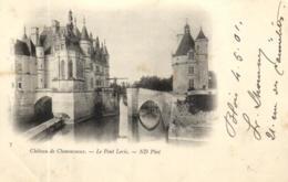 E 393 - Chateau De Chenonceaux (37) Le Pont - Levis - Chenonceaux