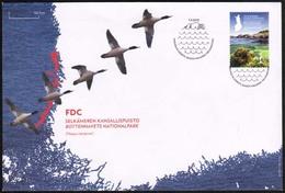 2012 Finland, National Park Bothnian Sea FDC. - FDC