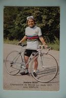 CYCLISME: CYCLISTE : JOSIANE BOST - Cyclisme