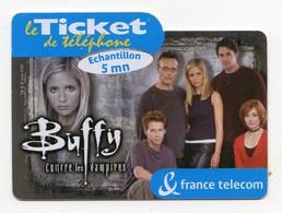 FRANCE CARTE CINEMA FRANCE BUFFY CONTRE LES VAMPIRES Sarah Michelle Gellar Exp.date 05/07/2002 - Kino