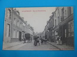 59 ) Le Quesnoy - Rue De Strasbourg - Année  : EDIT : Laffineur - Le Quesnoy