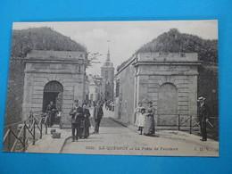 59 ) Le Quesnoy - N° 3931 - La Port De Fauroeux - Année  : EDIT : J.D.V - Le Quesnoy