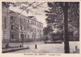 1959 BASSANO Del GRAPPA Ospedale Civile Viaggiata Affrancata Guerra Indipendenza Lire 15 - Vicenza