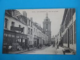 59 ) Le Quesnoy - N° 3938 - Rue De La Gare - Année  : EDIT : J.D.V - Le Quesnoy