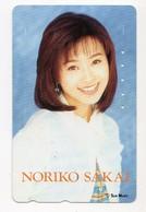 JAPON TELECARTE SUN MUSIC NORIKO SAKAI Actrice Et Chanteuse Japonaise De J-Pop - Personen