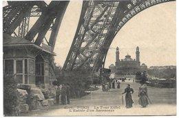 L130A_586 - Paris - 4106 La Tour Eiffel - L'Entrée D'un Ascenceur - Tour Eiffel