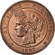 Monnaie, France, Cérès, 10 Centimes, 1897, Paris, SUP+, Bronze, Gadoury:265a - D. 10 Centimes