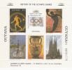 Guyana Nº 1769FA Al 1769FC Distintas Viñetas - Verano 1992: Barcelona